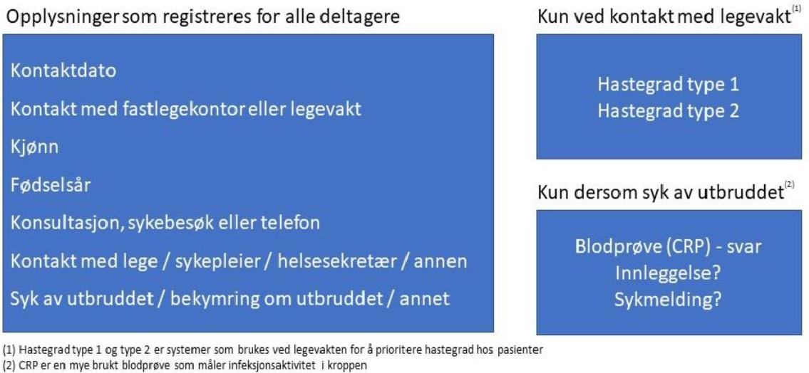 tabell opplysniger